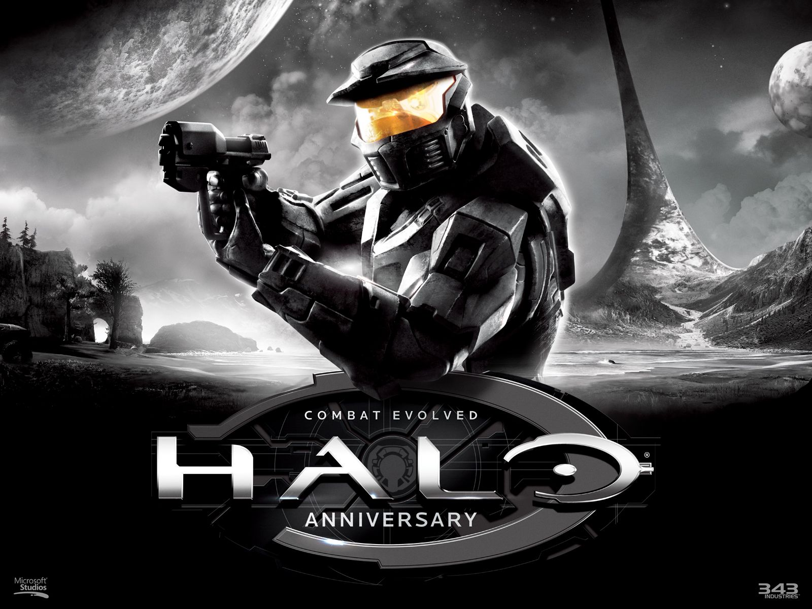 Halo Combat Evolved Anniversary y Halo 4 Wallpapers