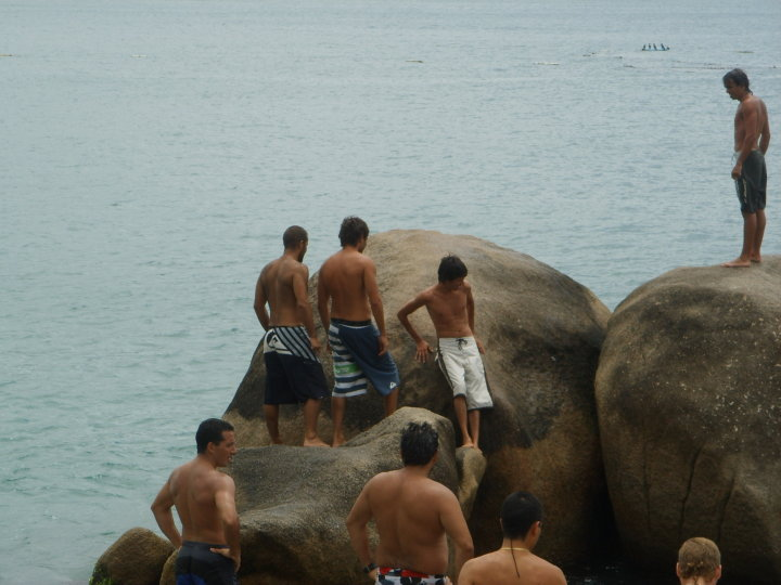 Vacaciones con amigos -Guarda do Embau- Brasil
