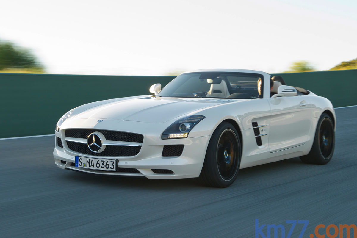 Mercedes benz sls amg roadster 2012 autos y motos for Silverlit mercedes benz sls amg