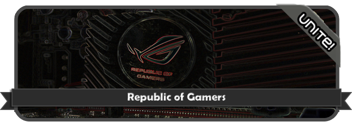 » Catalogo De Banners de ☆ Republic Of Gamers™ ☆